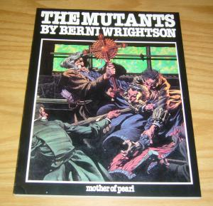 the Mutants SC VF- bernie wrightson - mother of pearl - graphic novel 1980 ogn