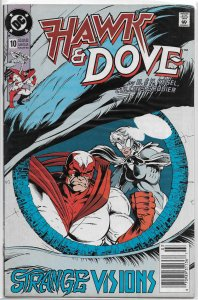 Hawk and Dove (vol. 2, 1989) #10 VG Kesel, Cullins