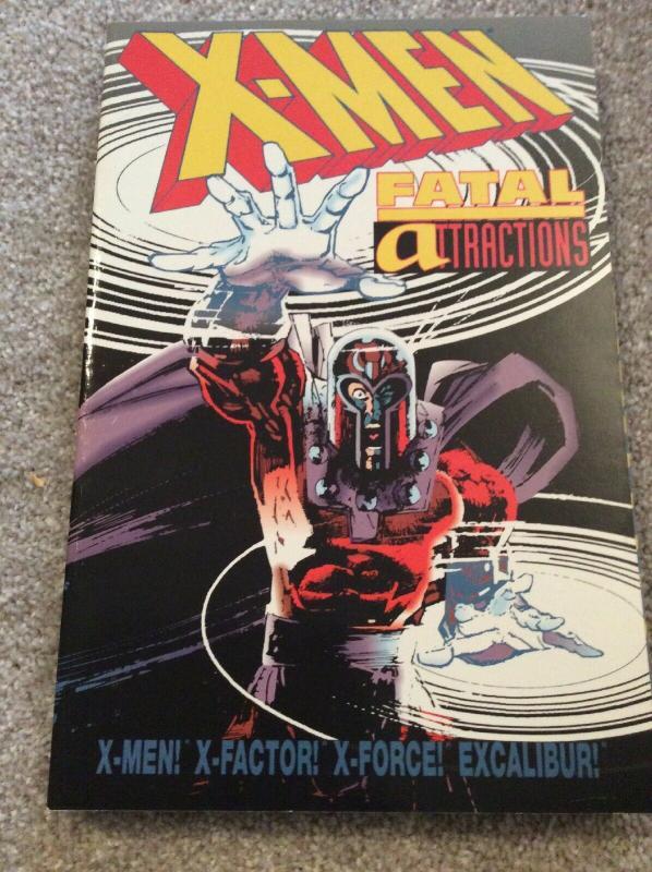 Graphic Novel Comic Book Marvel XMen X Men Fatal Attractions X Factor Force