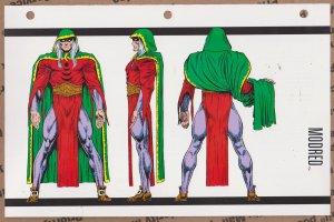 Official Handbook of the Marvel Universe Sheet - Modred