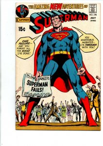 Superman #240 - Neal Adams - 1971 - Very Fine