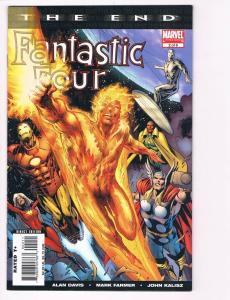 Fantastic Four The End # 2 Of 6 NM Marvel Comics Limited Series Human Torch S80