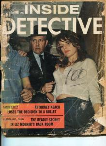 INSIDE DETECTIVE-JULY 1948-SPICY-MURDER-KIDNAP-RAPE-PAGANO COVER--poor P