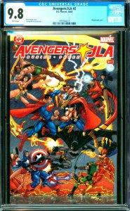Avengers and JLA #2 CGC 9.8