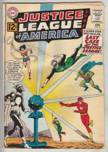 Justice League of America #12 (Jun-62) GD+ Low-Grade Justice League of Americ...