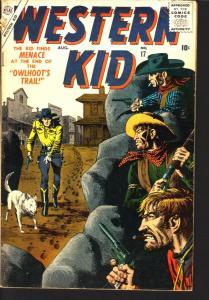 WESTERN KID #17 FINAL ISSUE SEVERIN ROMITA  ATLAS  1957 VG