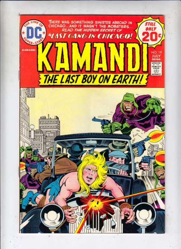 Kamandi the Last Boy on Earth #19 (Jul-74) VF/NM High-Grade Kamandi