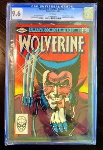 WOLVERINE #1 FRANK MILLER COVER, CGC 9.6