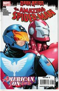 Amazing Spider Man (Vol.1)# 599  Father vs Son ! Harry vs the Iron Patriot !