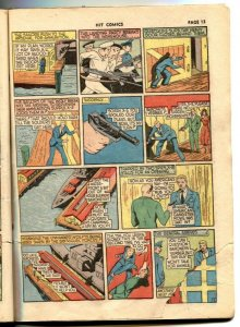 HIT COMICS #1 1940-1st  1st appearance of Hercules 1st Red Bee- Rare G/VG