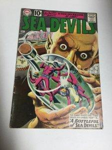 Sea Devils 2 Vg Very Good 4.0 DC Comics Silver Age