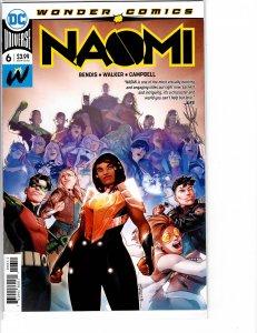 Naomi (2019) #6 NM (9.4) 1st print