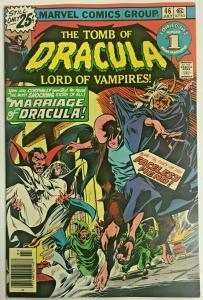 TOMB OF DRACULA#46 FN/VF 1976 MARVEL BRONZE AGE COMICS