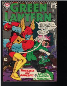 Green Lantern #50 (1967) - 1st Thraxon