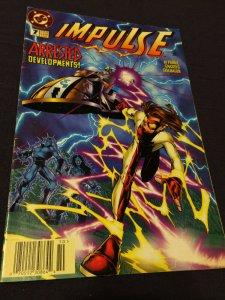 Impulse #7 Arrested Developments VF/NM DC Comics (1995)