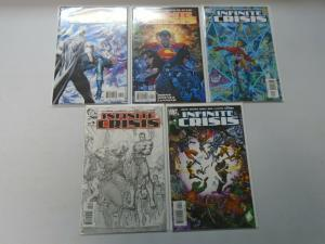 Infinite Crisis set #1-7 + countdown 9 different issues 8.0 VF (2005)