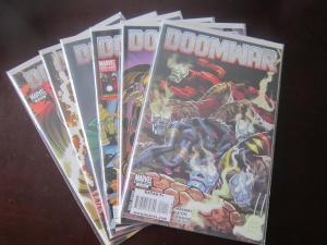 Doomwar (2010) #1A-6A Set - 9.0 - 2010