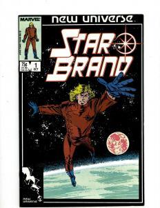 Lot of 12 Star Brain Marvel Comic Books #1 2 3 4 5 6 7 8 9 10 11 12 J410