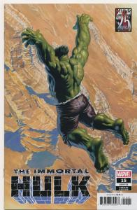 MARVEL The IMMORTAL HULK #15 Retail Incentive VARIANT Alex Ross NM (PF849)