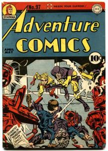 ADVENTURE COMICS #97-SANDMAN-DC-1945-SIMON AND KIRBY