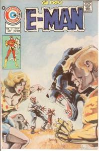 E MAN 10 F-VF ROG 2000 BY BYRNE Sept. 1975 COMICS BOOK