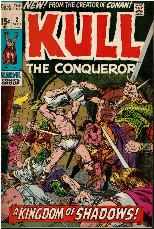 Kull The Conqueror #2, 6.0 or better