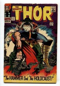 THOR #127-JACK KIRBY-1966-MARVEL COMIC BOOK- 1ST pluto