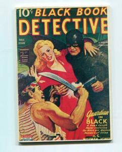 BLACK BOOK DETECTIVE-REPRODUCTION-LIMITED EDITION-GUARDIAN IN BLACK-FALL-1943