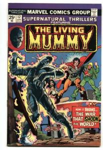 SUPERNATURAL THRILLERS #12-LIVING MUMMY-MARVEL HORROR-VF