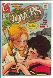 For Lovers Only #64 1972-Charlton-Shirley Jones poster-Heartbreak Swinger-VG