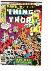 Marvel Two-In-One 22 VG  Thor
