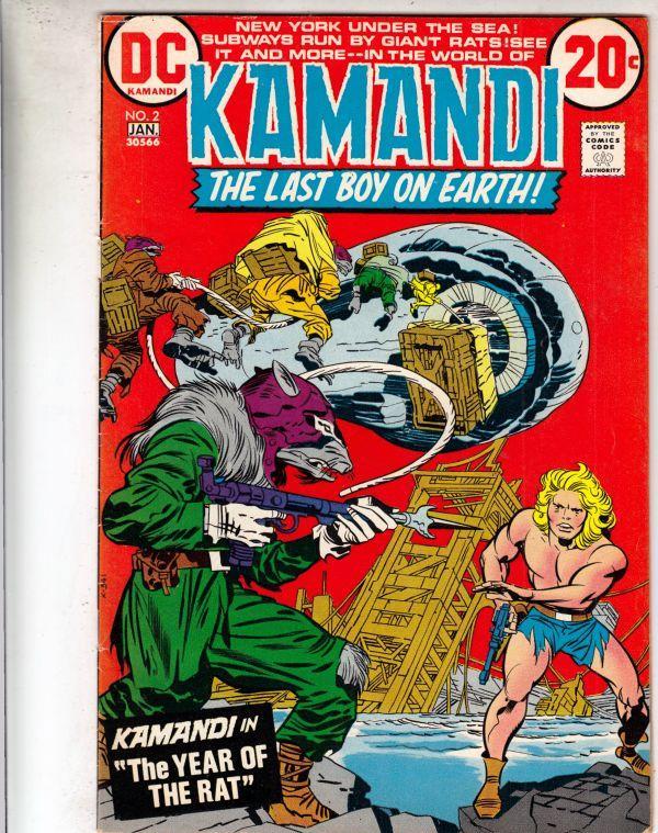 Kamandi the Last Boy on Earth #2 (Jan-73) VF/NM- High-Grade Kamandi