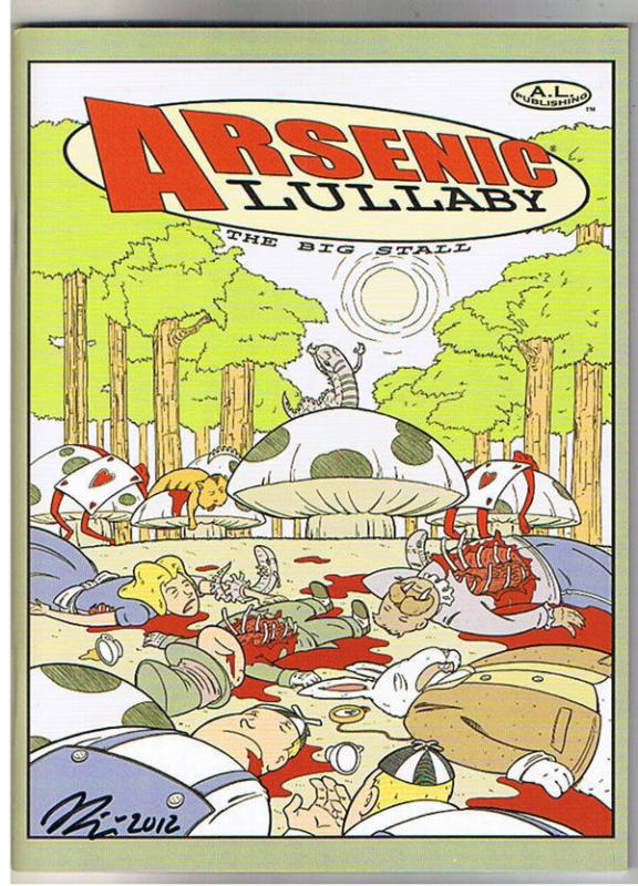 ARSENIC LULLABY, SDCC, NM, Limited Ashcan, Signed Douglas Paszkiewicz, 2012