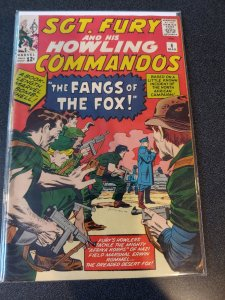 SGT.FURY AND HIS HOWLING COMMANDOS #6 F/VF