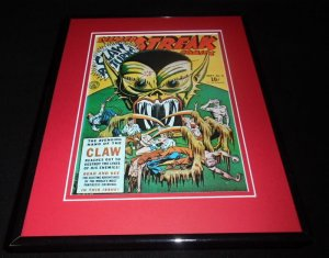 Silver Streak #6 The Claw Framed Cover Photo Poster 11x14 Official RP