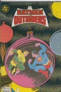 Batman y los Outsiders numero 14