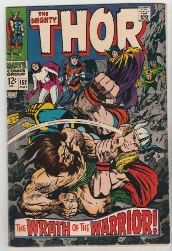 Thor #152 The Mighty strict VF+ 8.5 High-Grade  Appearance - Ulik  Richmond