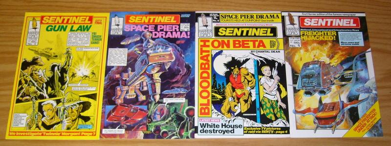 Sentinel #1-4 VF/NM complete series - harrier comics - science fiction set 2 3