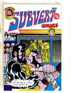 Subvert Comics # 1 VF/NM Underground Comic Book Comix Fight Opressor FM5
