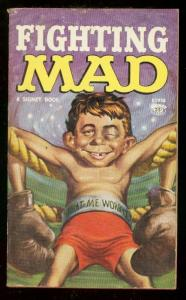 FIGHTING MAD PAPERBACK 1961-1st PRINTING-WALLY WOOD ART VG/FN