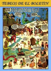 Los Tebeos de El Boletin numero 178: Prehistoria Feliz (humor variado)