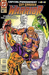 Guy Gardner: Warrior #28 FN; DC | save on shipping - details inside