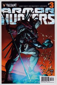 Armor Hunters #3 (Valiant, 2014)   9.6 NM+