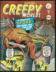 CREEPY WORLDS #151-KIRBY COVER AND STORY BILL EVERETT VF/NM