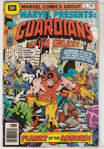 Marvel Presents Variant #5 (Jun-76) VG Affordable-Grade