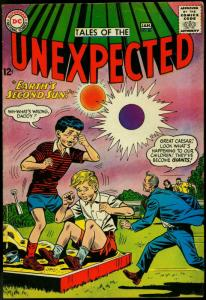 Tales Of The Unexpected #86 1964-DC Silver Age Sci-fi Second Sun G/VG
