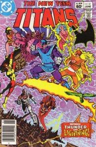 New Teen Titans, The (1st Series) #32 (Newsstand) VG; DC | low grade comic - sav