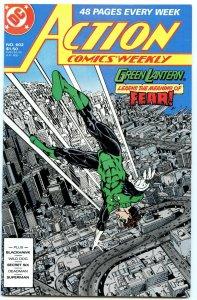 Action Comics Weekly 602 May 1988 NM- (9.2)