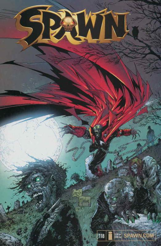 Spawn #118 FN; Image | save on shipping - details inside