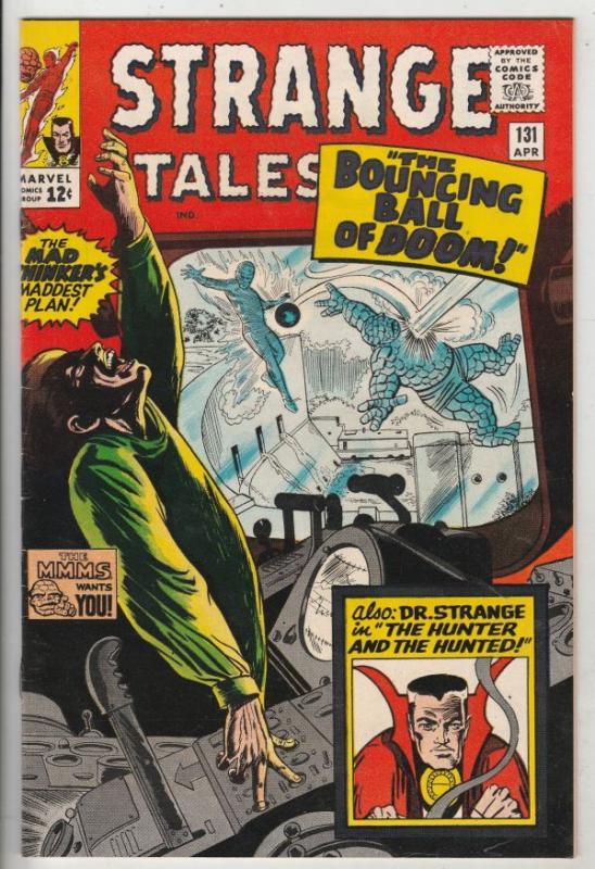 Strange Tales #131 (Apr-65) VF/NM High-Grade The Thing, Human Torch, Dr. Strange